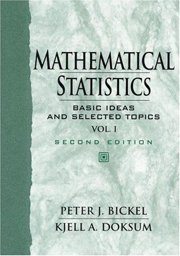Mathematical statistics by