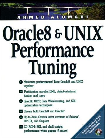 Oracle8 and UNIX performance tuning by Ahmed Alomari