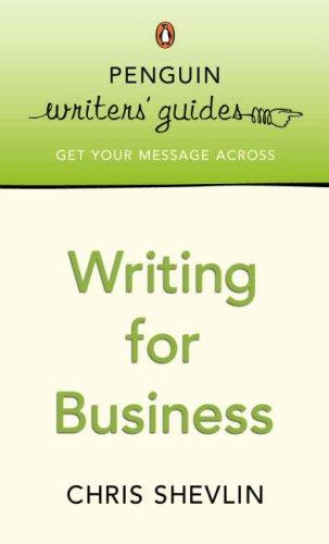 Writing for Business by Chris Shevlin