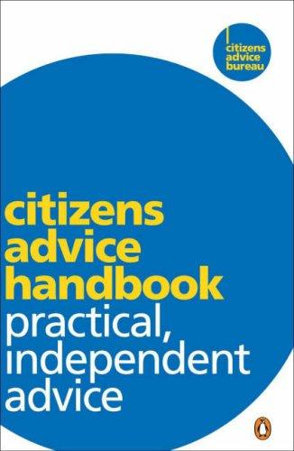 Citizens Advice Handbook by Citizens Advice Bureau