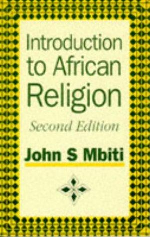 Introduction to African religion by Mbiti, John S.