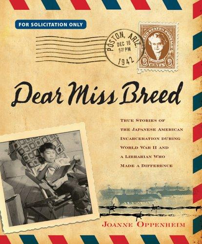 Dear Miss Breed by Joanne Oppenheim