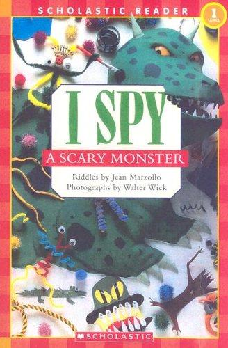 I spy a scary monster by Jean Little