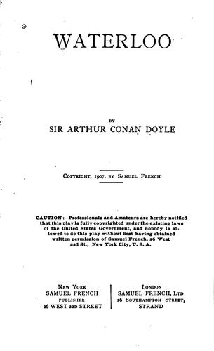 Waterloo by Sir Arthur Conan Doyle
