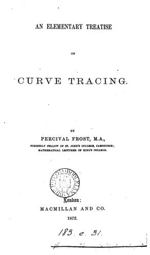An elementary treatise on curve tracing.
