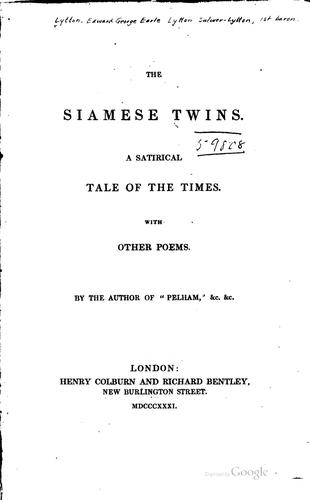 The Siamese twins.