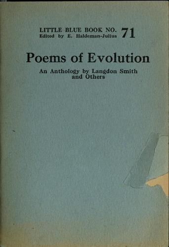 Poems of evolution by Langdon Smith