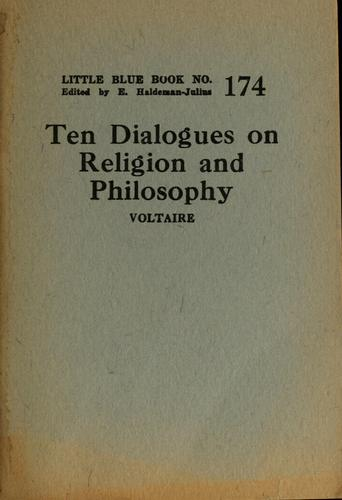 Ten dialogues on religion and philosophy by Voltaire
