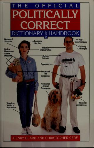 The official politically correct dictionary and handbook by Jean Little