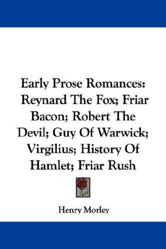 Early Prose Romances