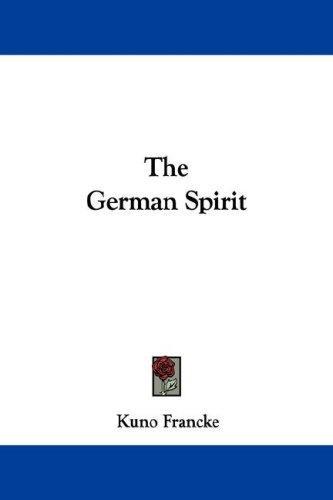 The German Spirit