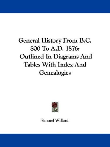General History From B.C. 800 To A.D. 1876 by Samuel Willard