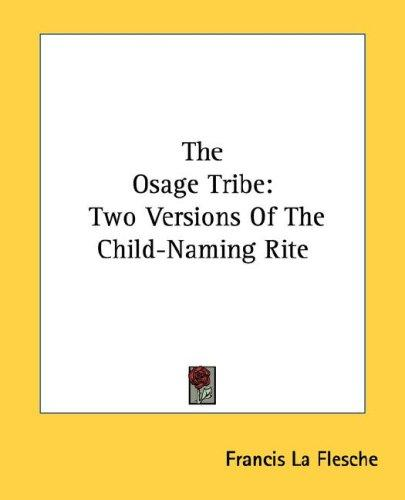 The Osage Tribe