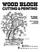 Wood block cutting & printing by Manly Miles Banister