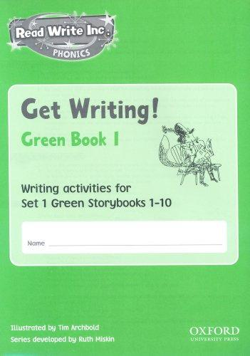 Read Write Inc. Phonics: Get Writing! by Ruth Miskin