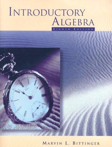 Introduction to Algebra 99 Mathpass by Judith A. Beecher