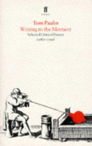 Writing to the Moment