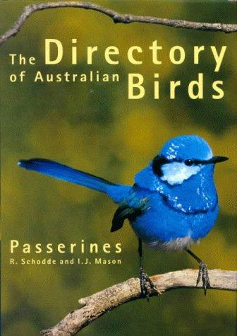 Directory of Australian Birds by Richard Schodde