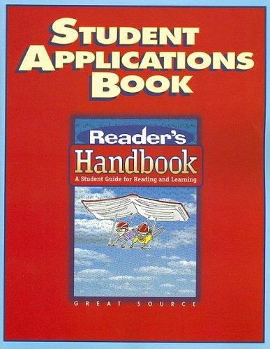 Image 0 of Great Source Reader's Handbooks: Student Application Book 2002