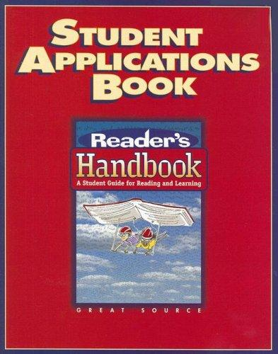 Image 0 of Reader's Handbooks: Student Application Book Grade 8 2002