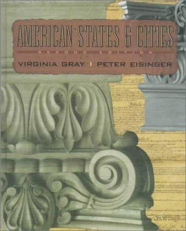 American states and cities by Virginia Gray