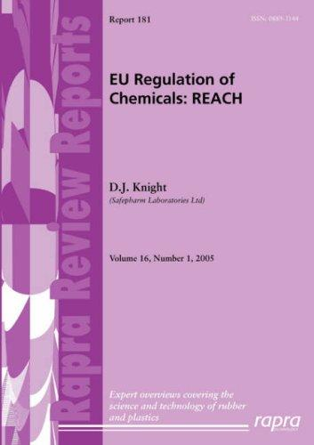 EU Regulation of Chemicals by D., J. Knight