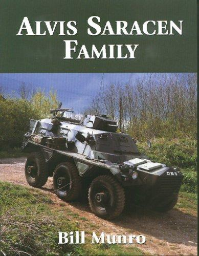 Alvis Saracen Family by Bill Munro
