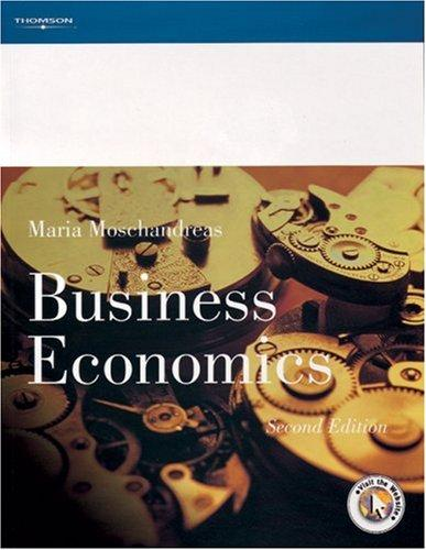 Business economics by Maria Moschandreas