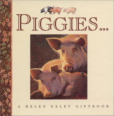 Piggies (Mini Squares) by Helen Exley