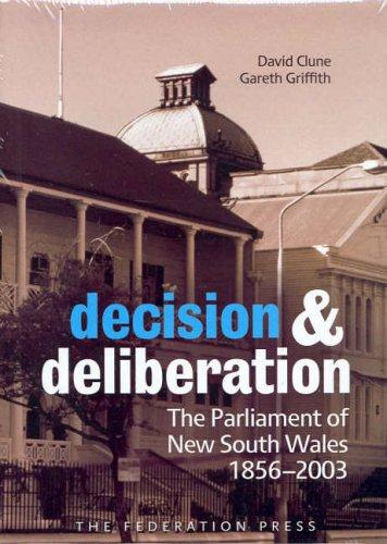 Decision and deliberation by David Clune, Gareth Griffith