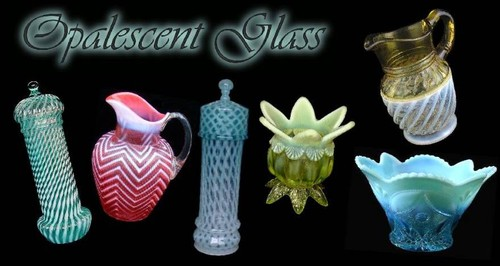 Victorian Opalescent Glass Price Guide by Bill Banks