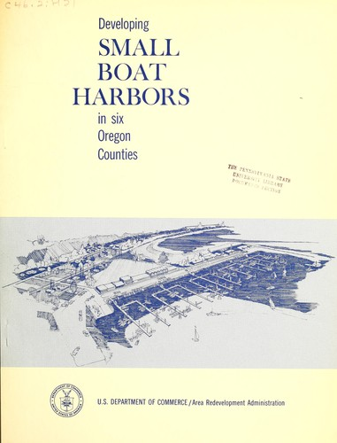 A study of the feasibility of developing small boat harbors in six Oregon counties by Cornell, Howland, Hayes, and Merryfield.