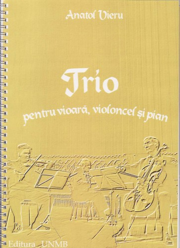 Trio for violin, cello and piano by