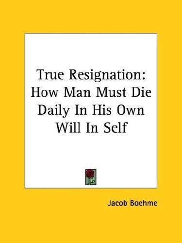 True Resignation