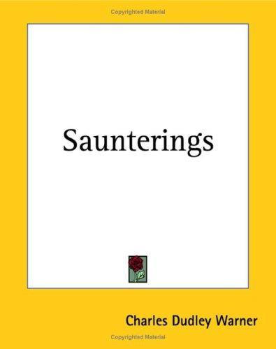 Saunterings