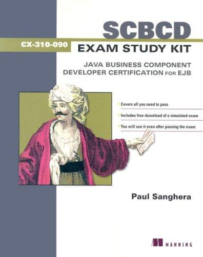 SCBCD Exam Study Kit by Paul Sanghera