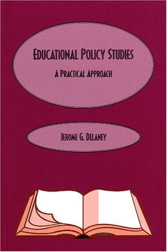 Educational Policy Studies by Jerome Delaney