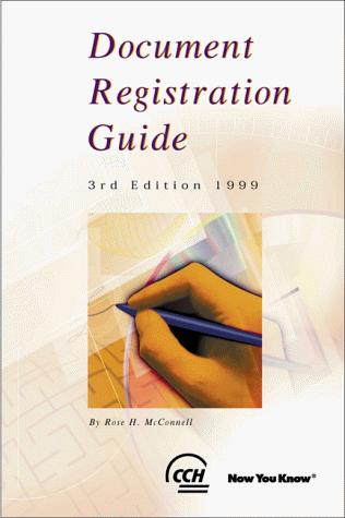 Document Registration Guide by Rose H. McConnell