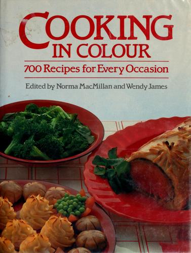 Cooking in colour by