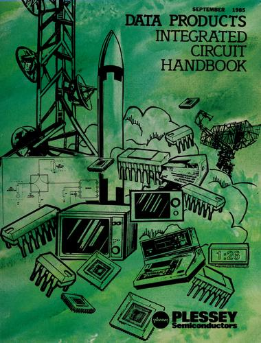 Data products integrated circuit handbook by Plessey Semiconductors (Firm)