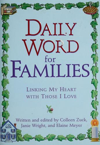 Daily word for families by Colleen Zuck