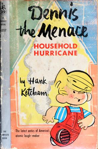 Dennis the Menace household hurricane by Hank Ketcham