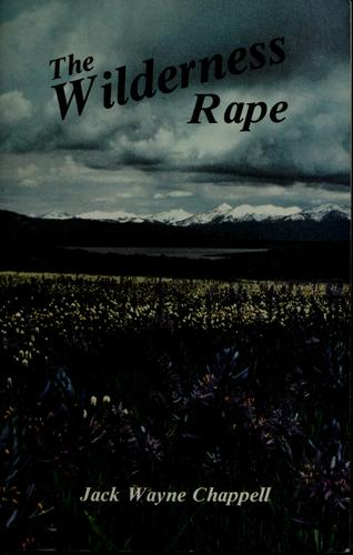 The Wilderness Rape by Jack Wayne Chappell