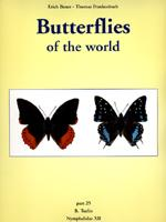 Butterflies of the World: Part 25 The Afrotropical Species of Charaxes by