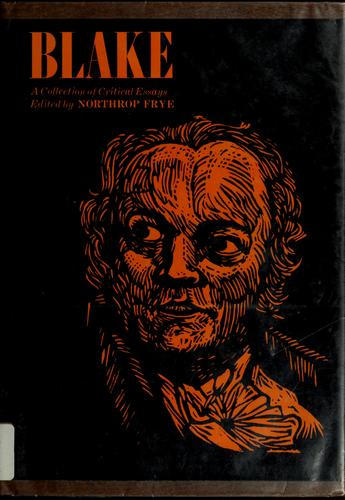 Blake by Northrop Frye