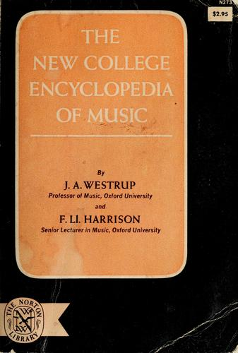 The new college encyclopedia of music