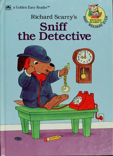Sniff the Detective (Road to Reading) by Golden Books