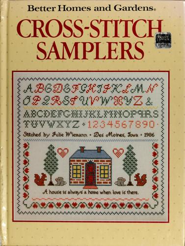 Cross-stitch samplers by