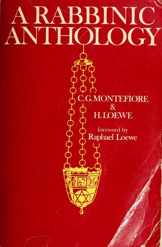 A rabbinic anthology by C. G. Montefiore