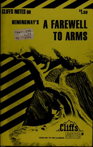A farewell to arms by James Lamar Roberts